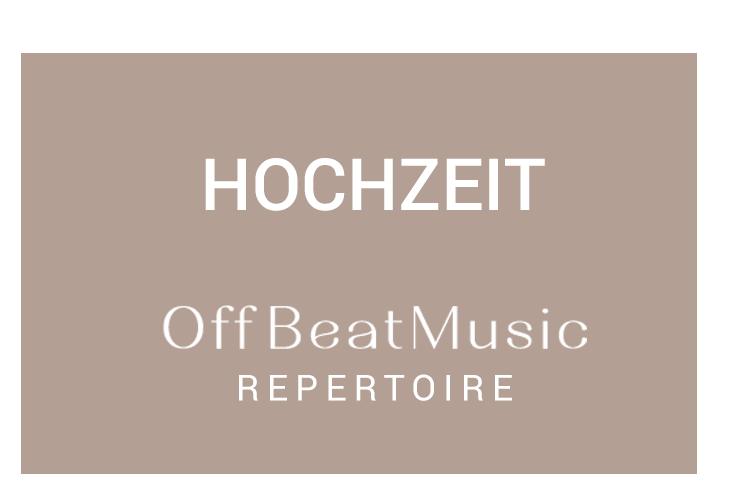 "alt=""Band Hochzeit Repertoire"""